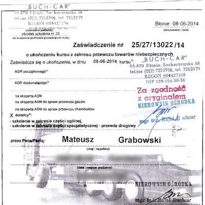 24. 2014 MG kurs ADR